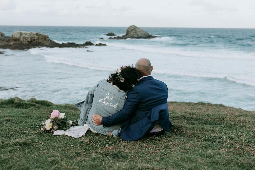 Byron Bay Wedding, Byron Bay Elopement, Luxe Elopements, Byron Bay, Pitkt Flowers, Yellow Bull Media, Byron Kombi Limo